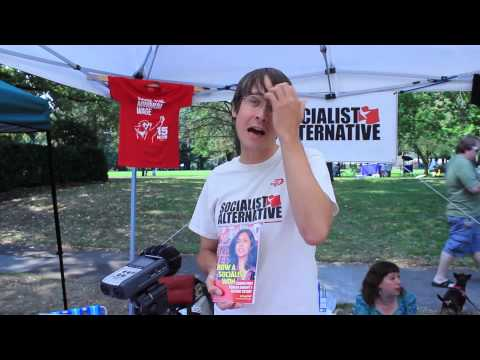 Socialist Alternative Green Neighborhoods Festival 2014