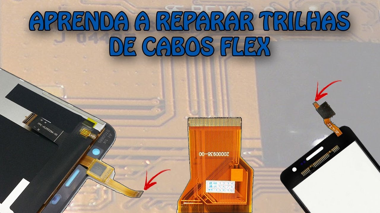 How To Recover Repair Flex Cable Damaged Cell Phone And