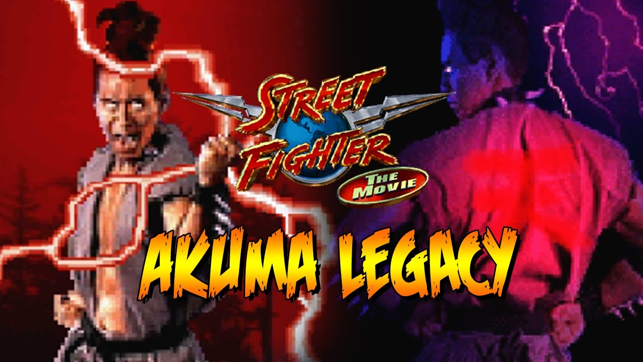 Akuma The Movie The Game Akuma Legacy Street Fighter The Movie Youtube