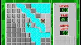 CCLP2 level 139 solution - 373 seconds...