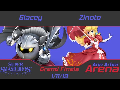 Ann Arbor Arena #18 Grand Finals - Zinoto (Peach) vs. DMG | Glacey (Metaknight)