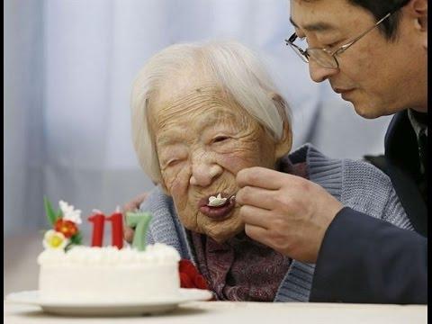 Misao Okawa Turns 117! お誕生日おめでとうございます。