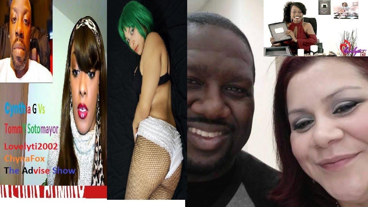 Tommy Sotomayor Says Cynthia G Chynafox Sold Skins To White Men + Dissed Lovelyti Advise Show Wife