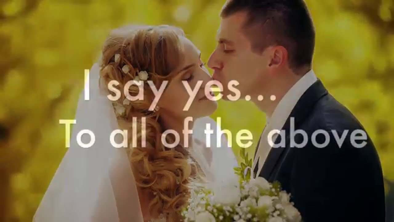 All of the Above band mix T Carter Music New Wedding Song