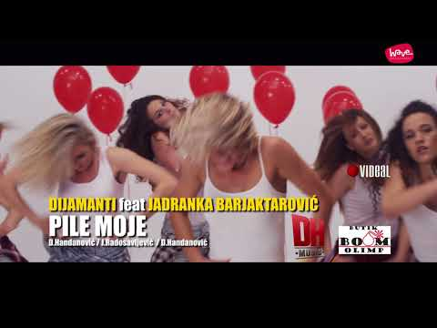 DIJAMANTI BEND FT. JADRANKA BARJAKTAROVIC - PILE MOJE (OFFICIAL VIDEO)