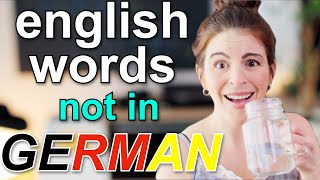 5 English Words I'm SHOCKED Don't Exist in German (and one I'm not...) | american in germany