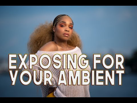 On – Location Photography Tips / Exposing for your Ambient