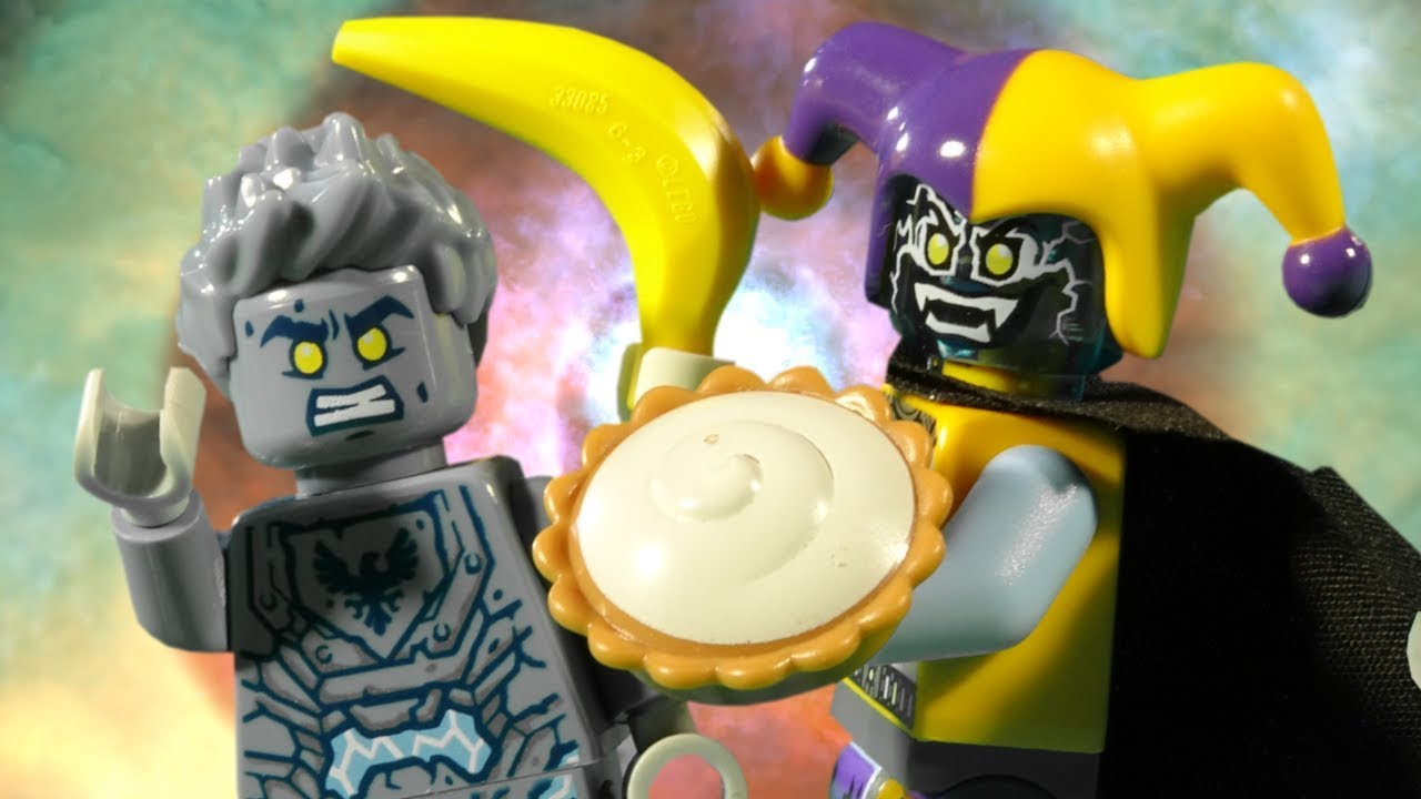 LEGO NEXO KNIGHTS   STONE CLAY FAIL   FUNNY VIDEO FOR KIDS