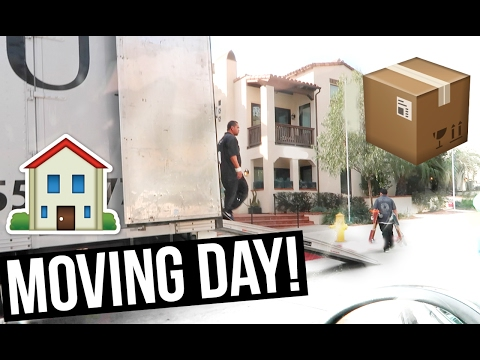 MOVING DAY! MOVING INTO OUR HOUSE!