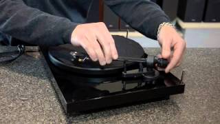 Project Debut Carbon Turntable Setup Tutorial