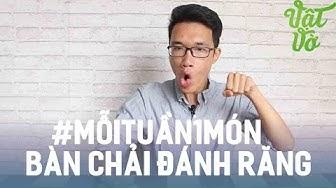 Vlog 69  #MỗiTuần1Món: Trên tay & đánh giá bàn chải đánh răng !!