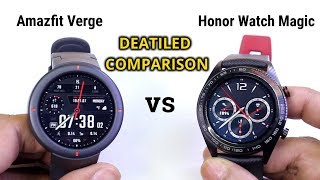 Amazfit Verge vs Honor Watch Magic | which is Best Sports Smartwatch of the Year ?