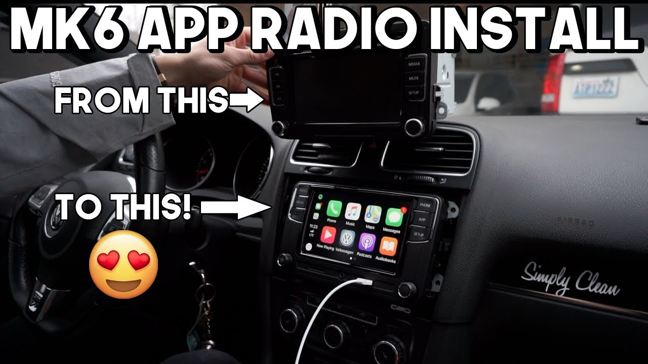 The BEST Mk6/Mk5 App Radio Head Unit // Install + Review