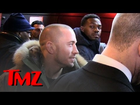 Jon Jones & GSP -- AWKWARD ENCOUNTER ... At Super Bowl Party