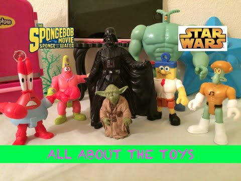 Sponge out of water- The Spongebob movie/Imaginext-All about the toys