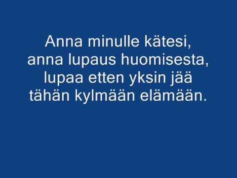Kotiteollisuus- Minä Olen(Lyrics)