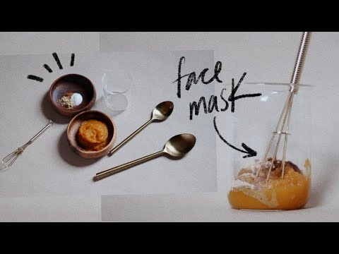 DIY FACE MASK | Exfoliating Face Mask | Lighten Hyperpigmentation with Natural Ingredients