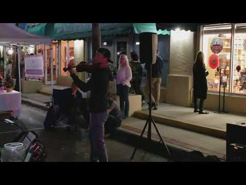 Third Friday violinist in Safety Harbor