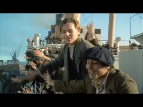 Titanic - Leaving Port scene (*alternate music replacement)