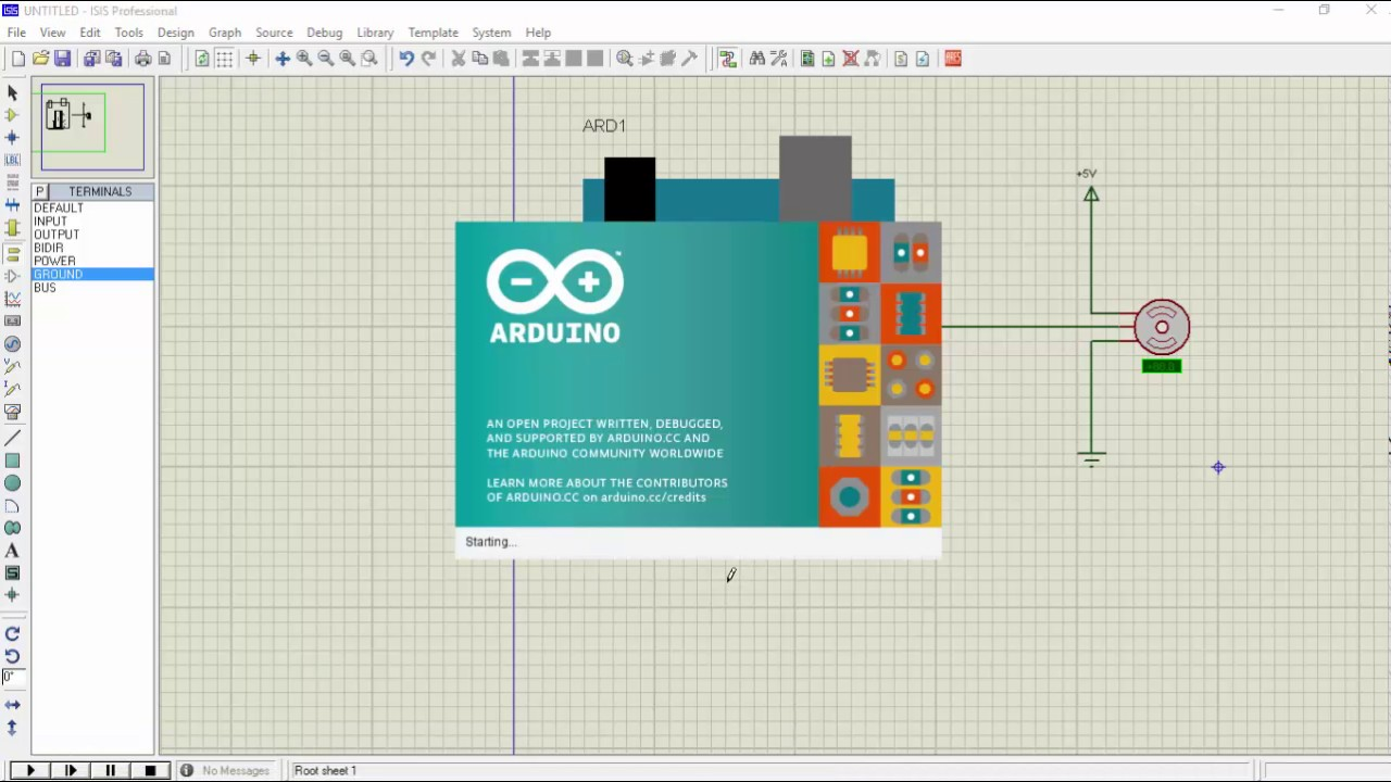 Servo motor simulation in proteus arduino tutorial youtube