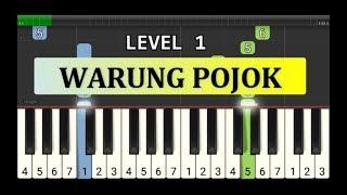 not piano warung pojok - tutorial level 1 - lagu daerah nusantara - tradisional -  jawa barat