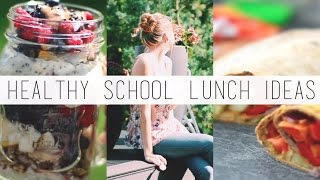 5 Healthy, Vegan-Friendly School Lunches + Snacks Thumbnail