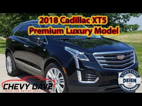 Preowned 2018 Cadillac XT5 Premium Luxury Model Review 😎