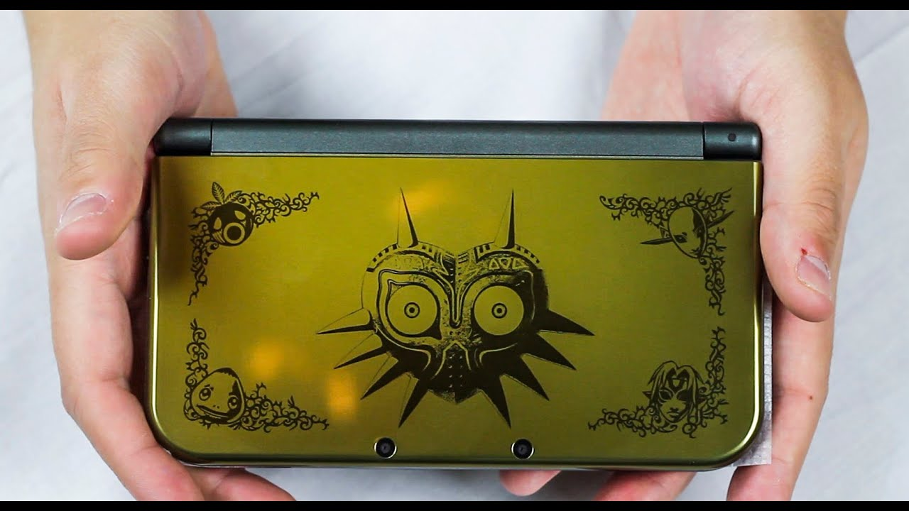 new nintendo 3ds xl majora s mask edition unbox gameplay youtube