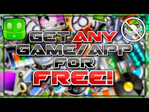 Get Any Game/App For Free! (Android/ios) No Jailbreak/No Root!