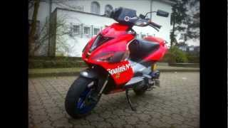 Aprilia SR50R Tuning Story Part 1