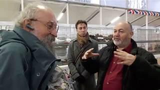 Анатолий Вассерман на выставке голубей в Рузино