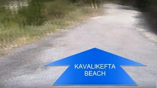 How to get to the Kavalikefta beach by motorbike. Kavalikefta plaža skuterom. Lefkada 2016(Kavalikefta beach, Lefkada, Greece 2016. Here you can find the complete instruction on how to get from Lefkas (the Capitol of Lefkada) to Kavalikefta beach by ..., 2016-11-02T15:48:08.000Z)