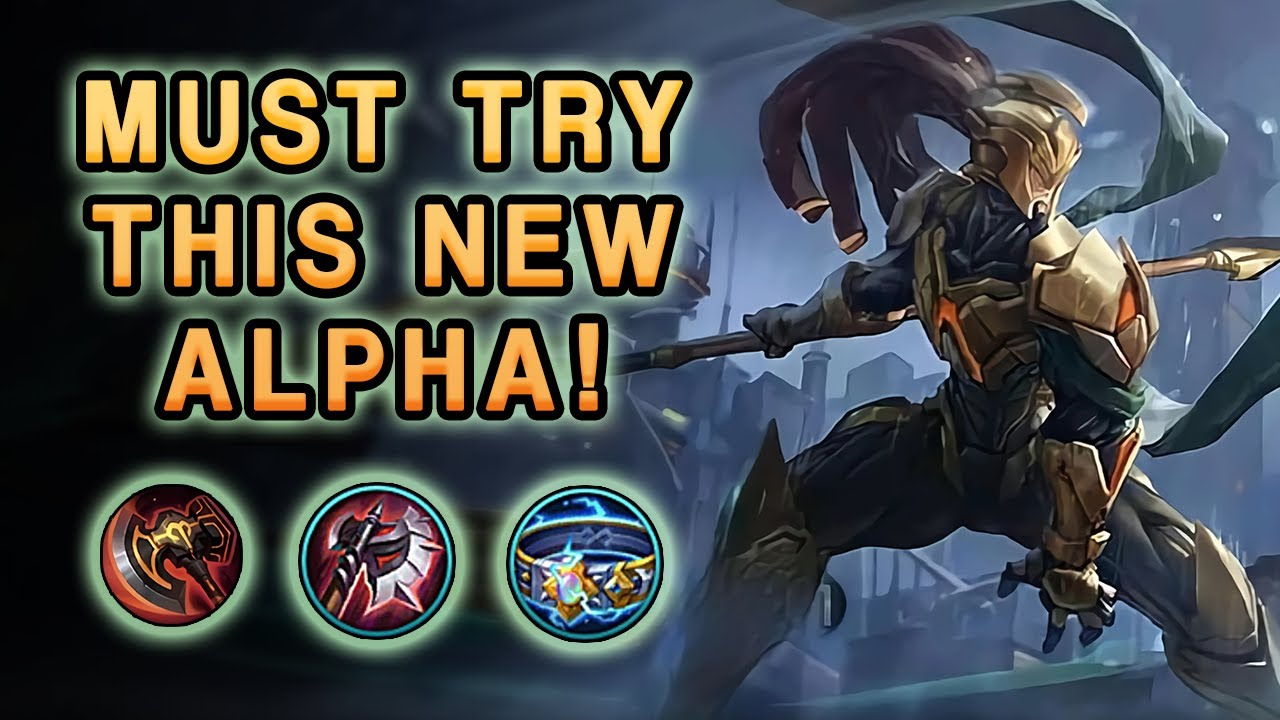 The New Item And Revamp Turned Alpha Into A Killing Machine   Mobile Legends