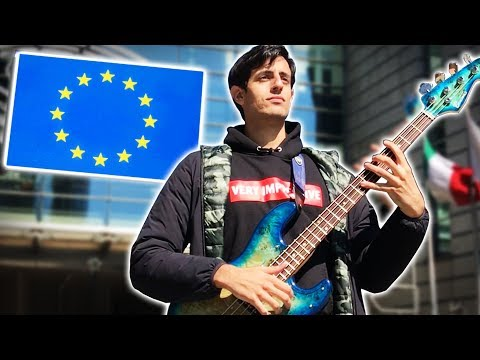 I went to the EU PARLIAMENT just to play MEMES (fighting against ARTICLE 13)