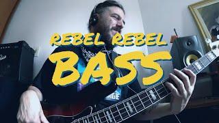 Rebel Rebel Bass Cover Albert Lemos