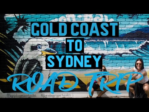 ROAD TRIP FROM THE GOLD COAST TO SYDNEY || An Australian Idol Karaoke Infused Sing-Along