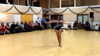 Central Jersey Dance Society Salsa Sensation Plus Solo Dance Performance 12 19 15