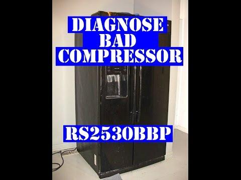 How To Check A Refrigerator Compressor Doovi