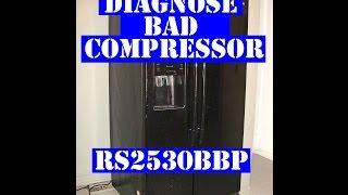 Samsung refrigerator - diagnos…