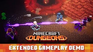 Minecraft Dungeons: Extended Gameplay Demo