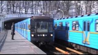 Київ / Kyjev: Київський метрополітен / Metro v Kyjevě
