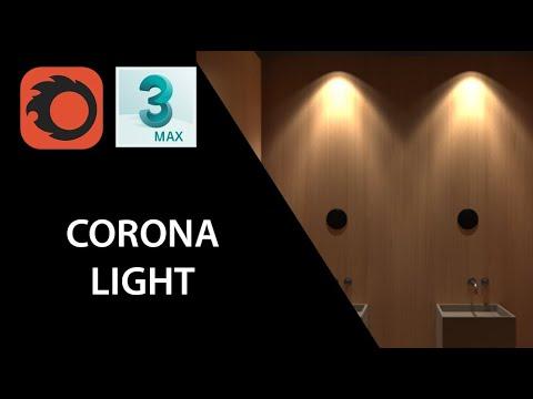 Giáo trình Corona   Bài 13 - ÁNH SÁNG TRONG CORONA RENDER    Các loại đèn Corona light