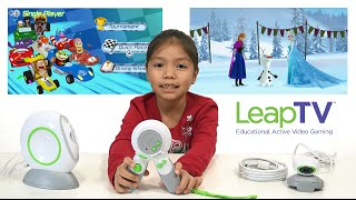 LeapTV from LeapFrog is the best Educational Video Game System for Kids