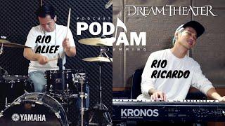 PODJAM - Rio Alief x Rio Ricardo play Dream Theater