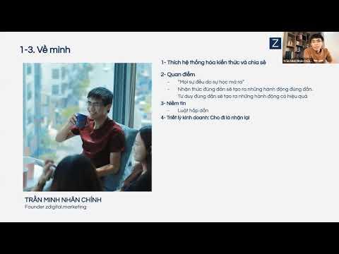 Module 1-2-3: Nền tảng về Digital Marketing (Phần 1): Giới thiệu - Trần Minh Nhân Chính