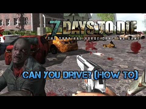 7 Days To Die Can You Drive How To Minibike Tips Tricks Xbox