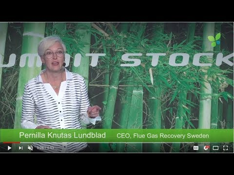 ECO17 Stockholm: Pernilla Knutas Lundblad Flue Gas Recovery Sweden