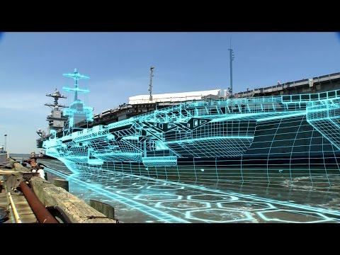 Newport News Shipbuilding launches the digital shipyard