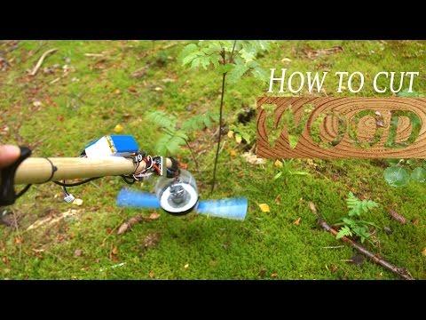 DIY Wood Cutter Machine - RCLifeOn