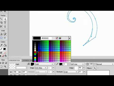 Adobe Fireworks Tutorial on How To Create Elegant Stunning Swirls, Curls, and Swooshes
